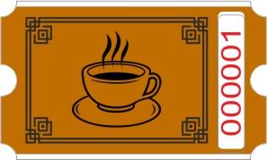 Kaffee rollen - Braun
