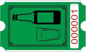 Flaschenrolle - grün